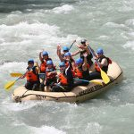 Whitewater Rafting Panorama
