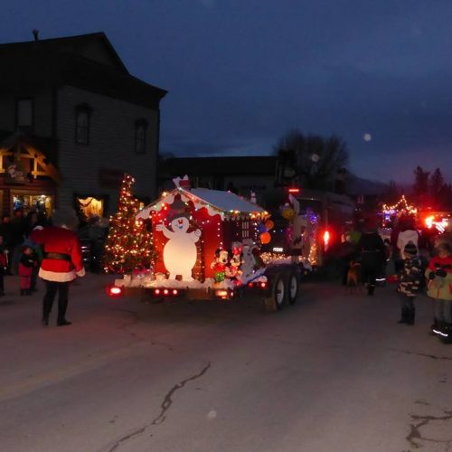 Invermere BC Event Light up