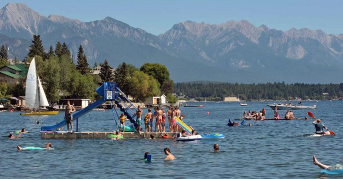 Lake Windermere, Invermere, BC