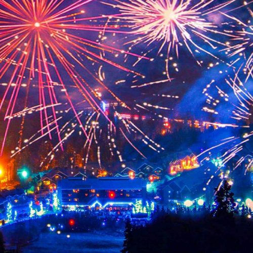 New Year's Celebrations - Panorama