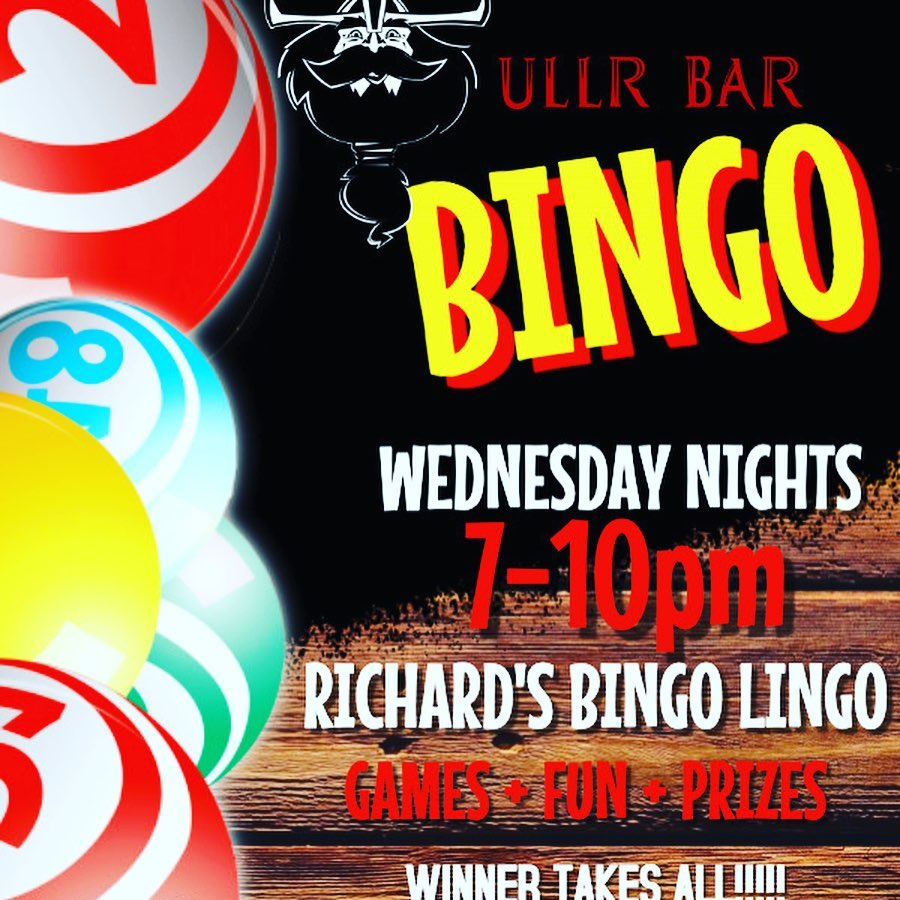 UllR Bar Music Bingo