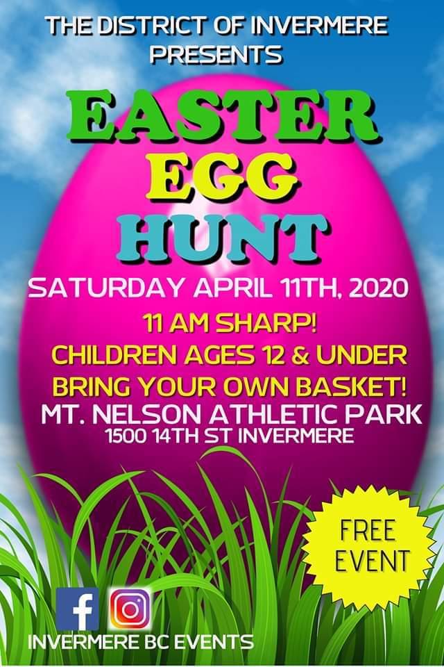 Easter Egg Hunt - Invermere BC