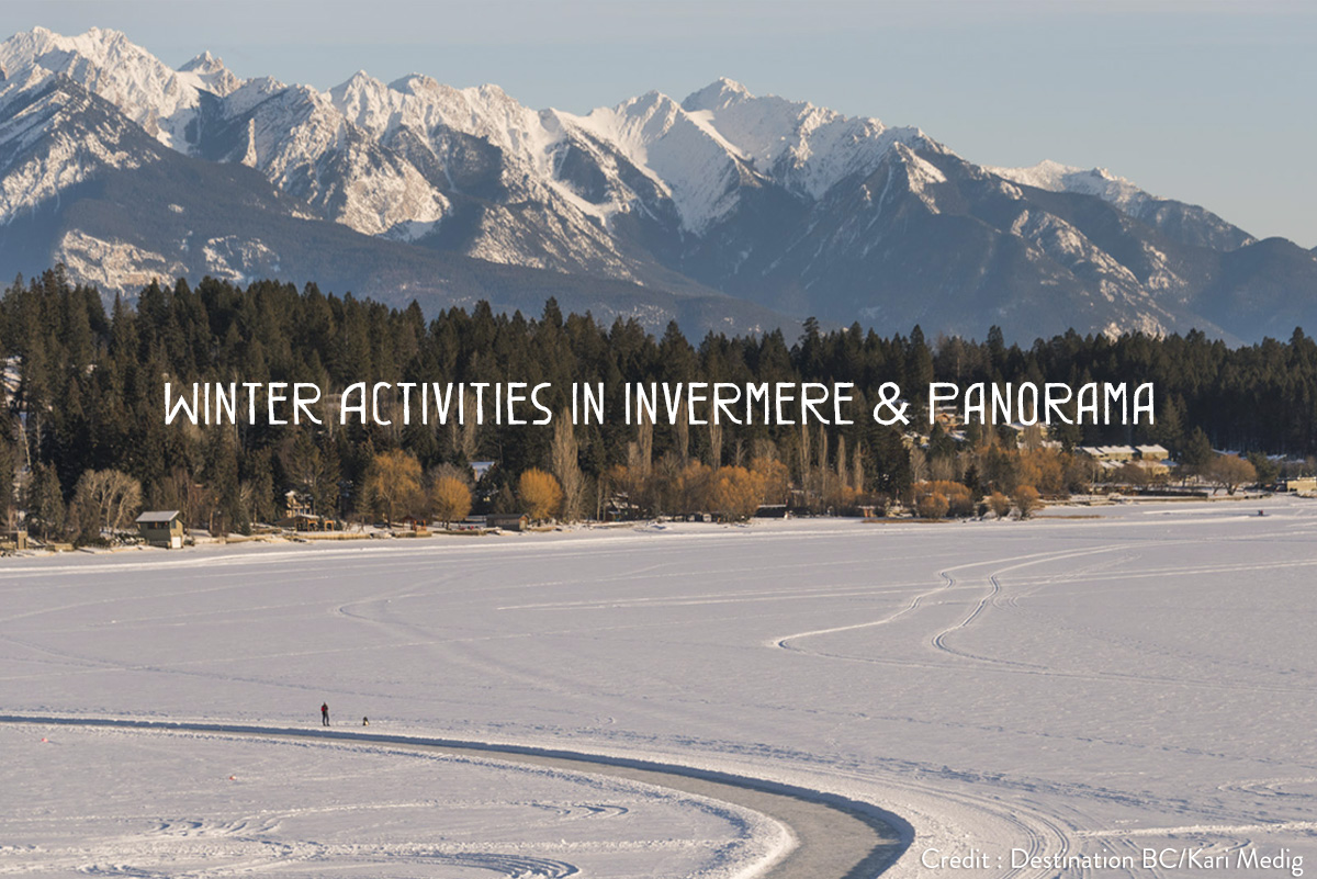 Winter activities in Invermere and Panorama