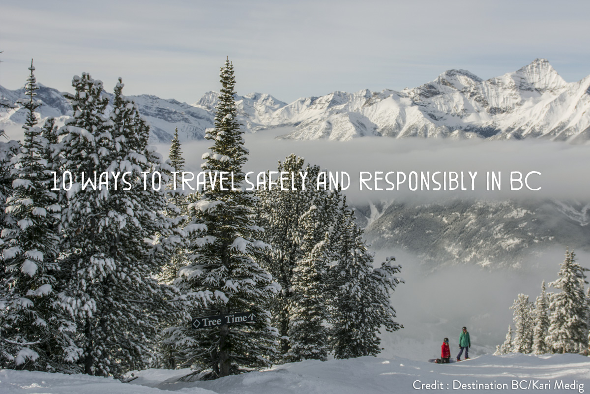 safe travel to Invermere & Panorama